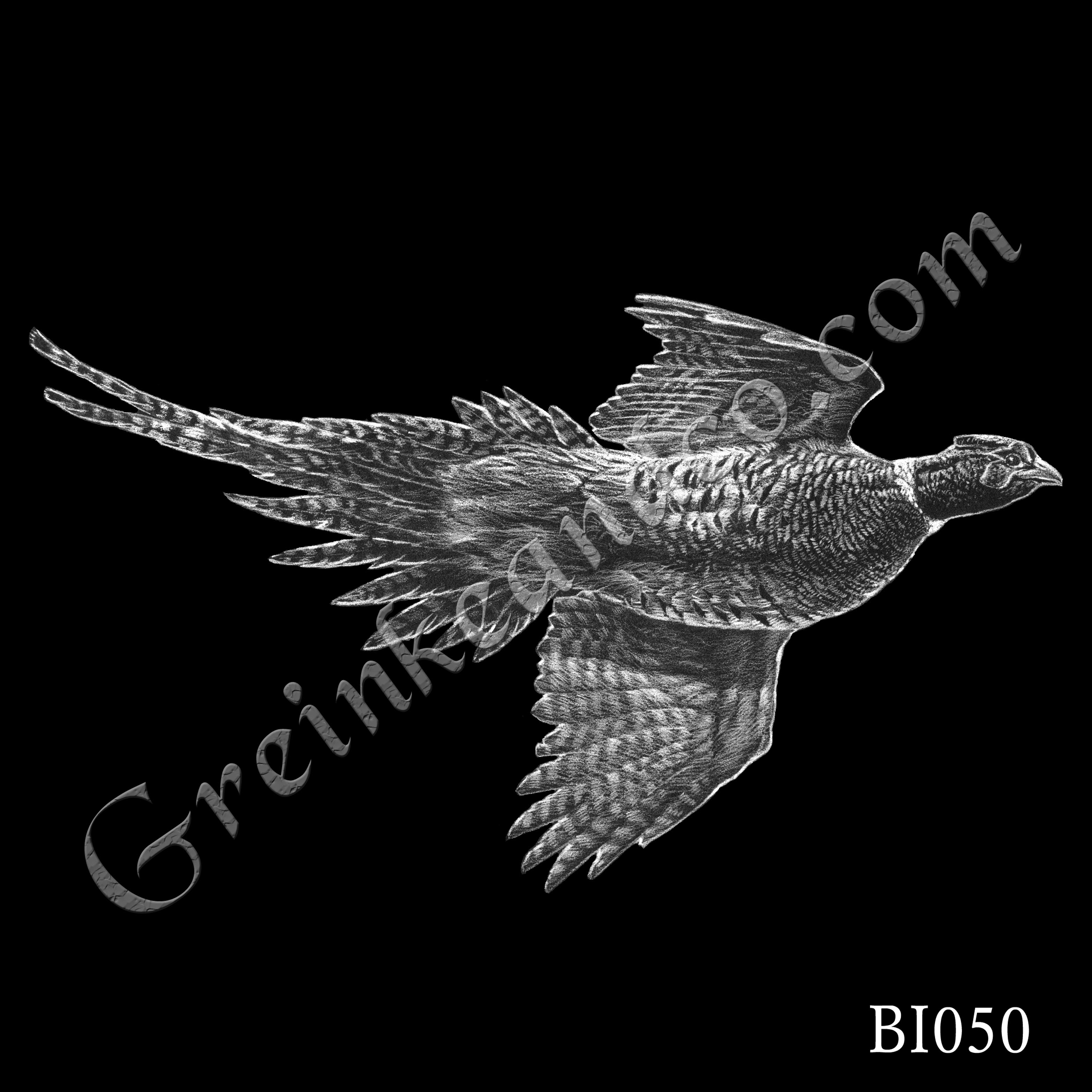 BI050 - Flying Pheasant