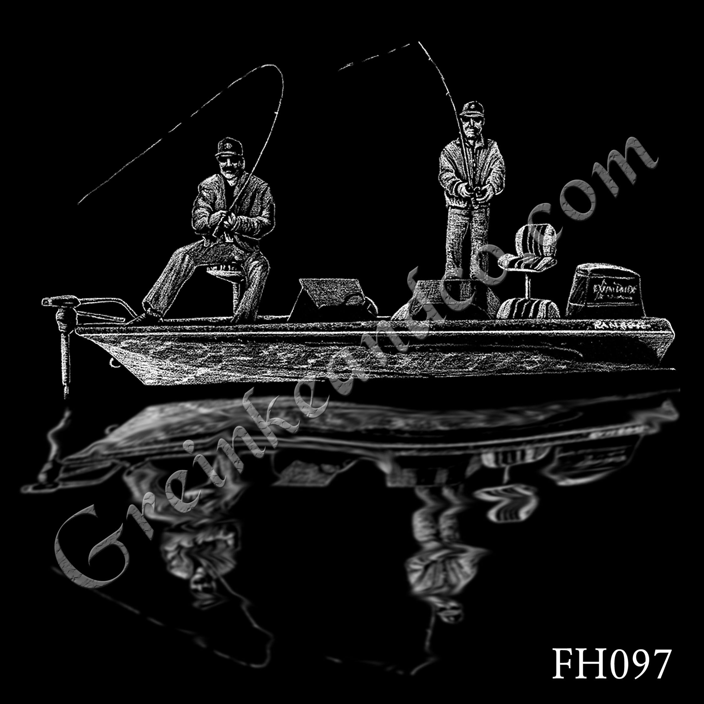 FH097 - Men Fishing