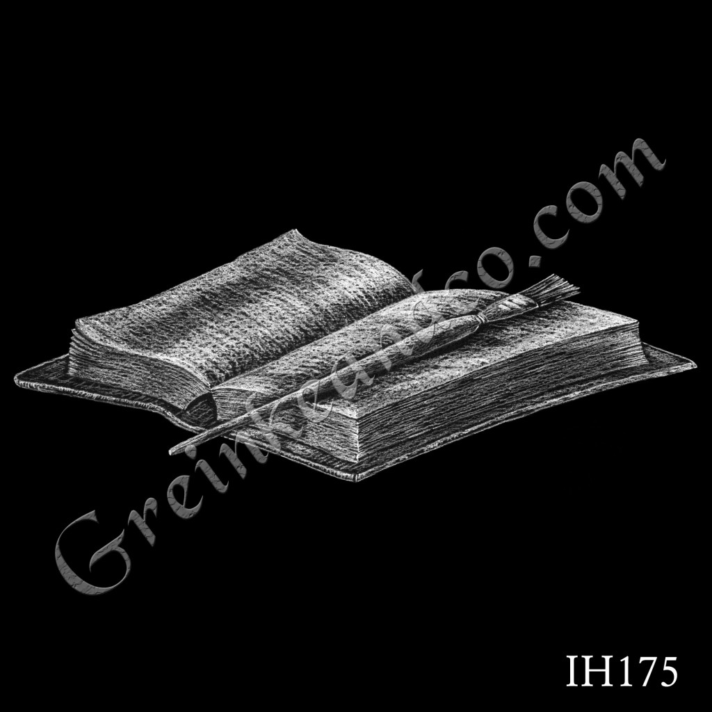 Book with Brush