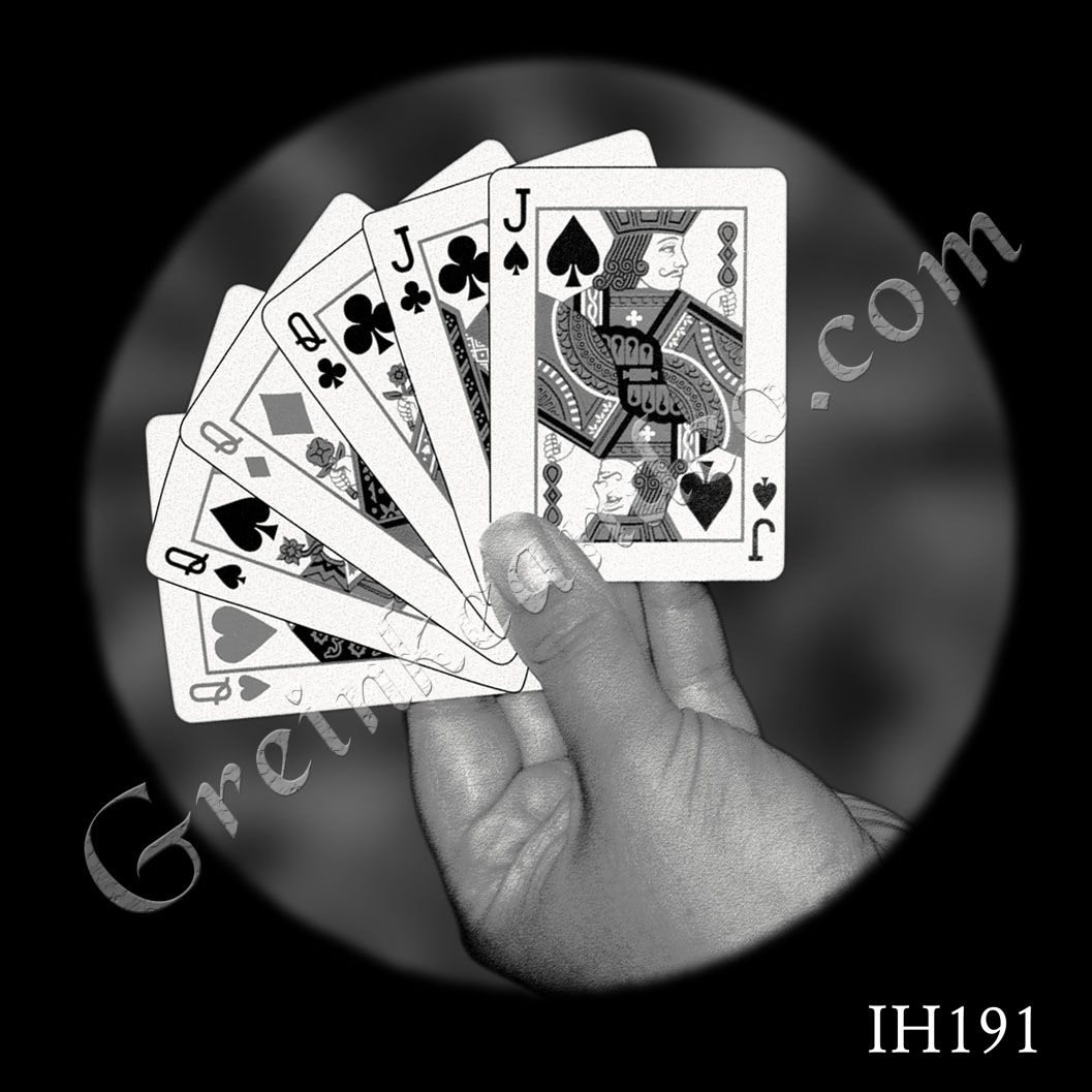 IH191 - Hand with Cards