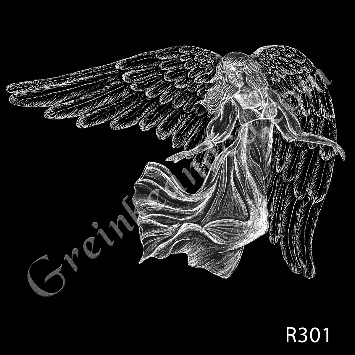 R301 - Flowing Angel