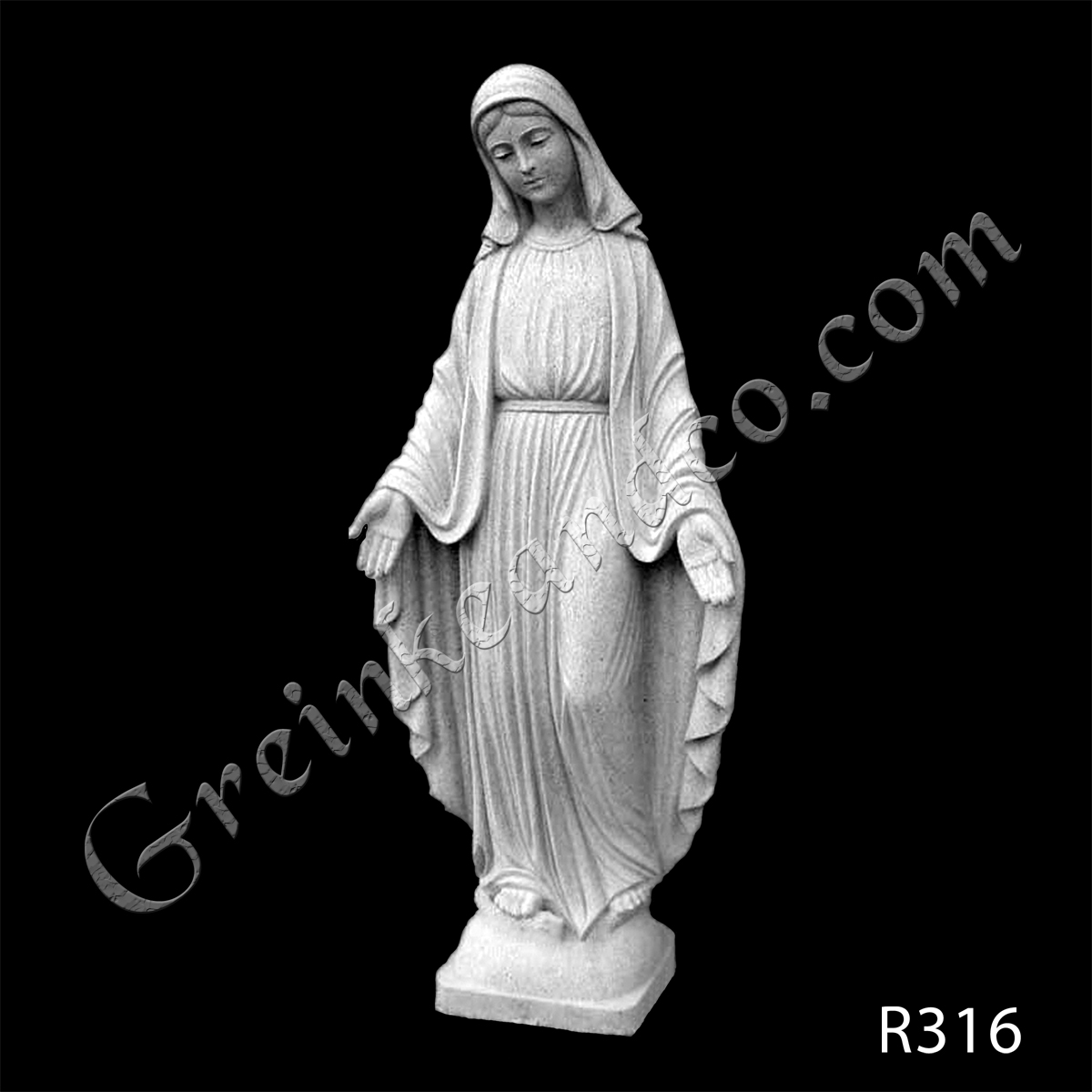 R316 - Mary Statue