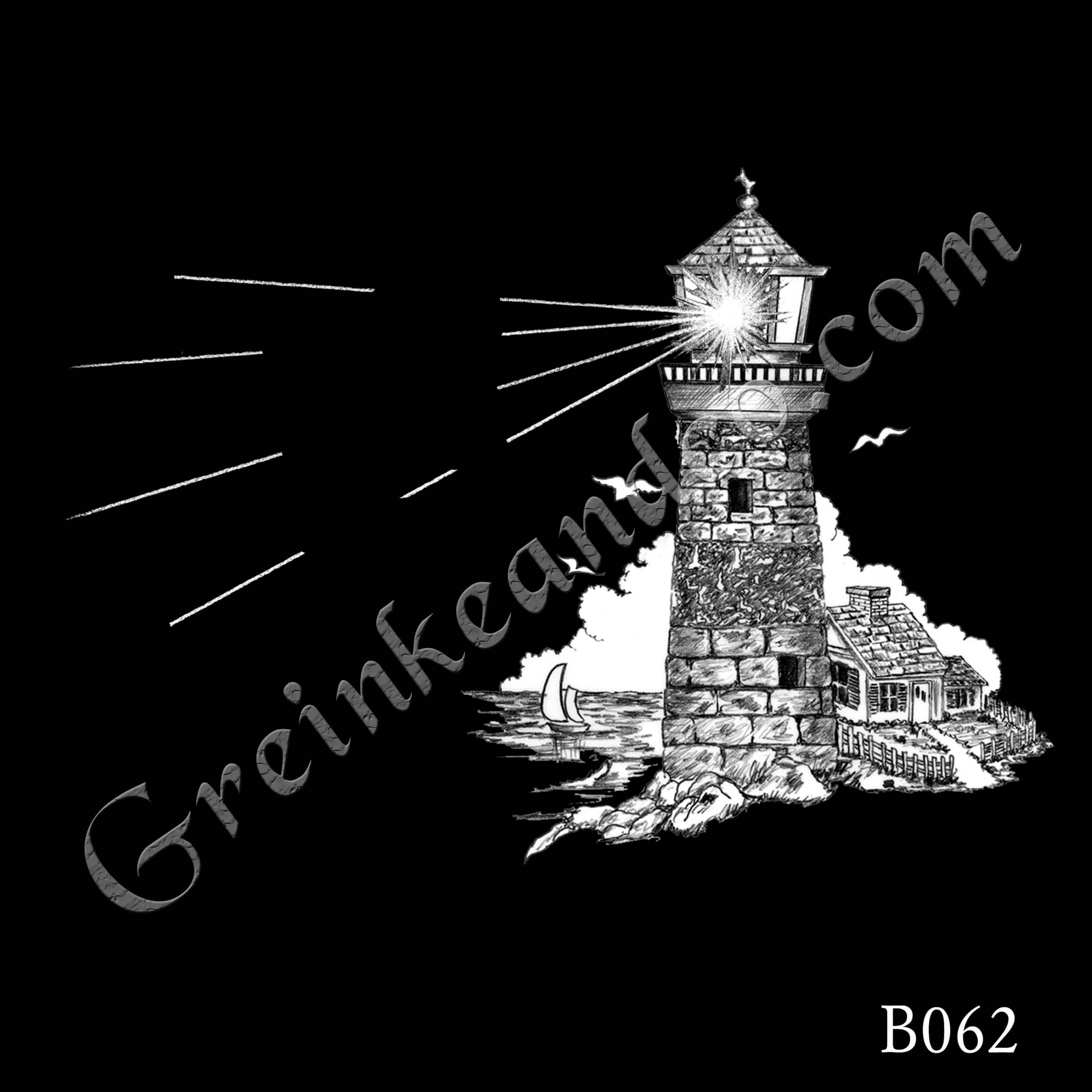 B062 - Lighthouse Scene