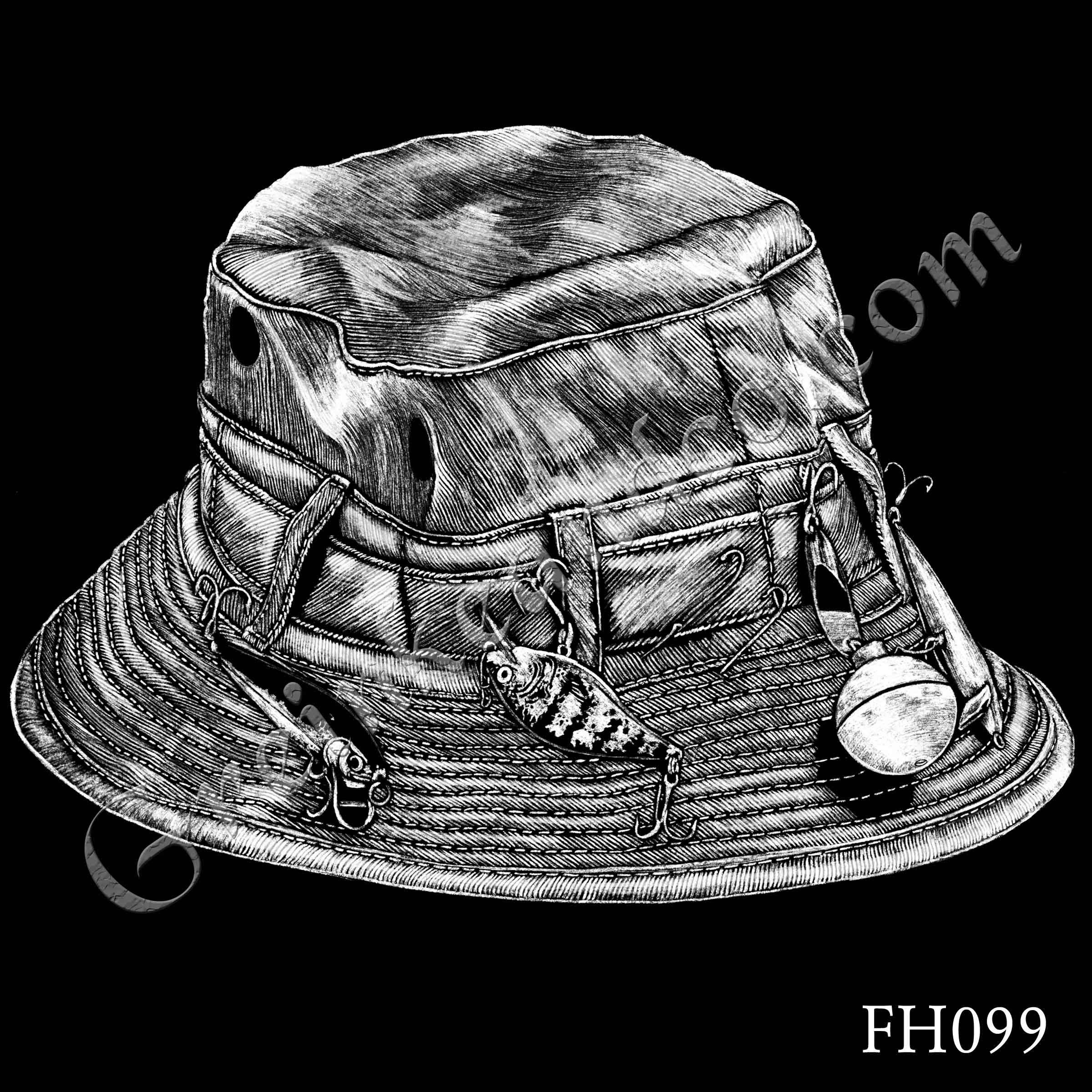 FH099 - Fishing Hat