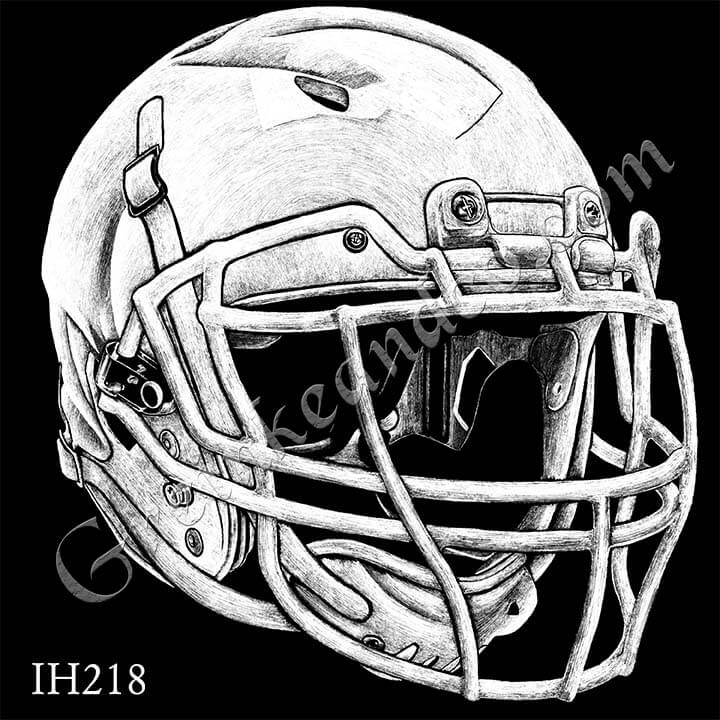 IH218 - Football Helmet