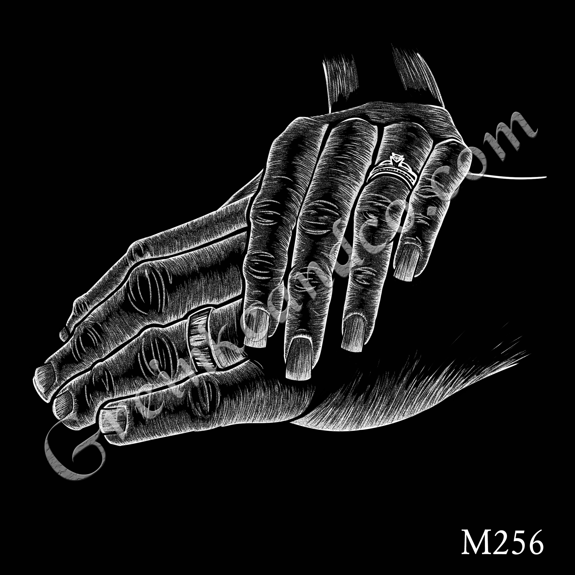 M256 - Holding Hands