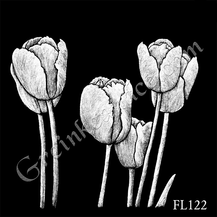 FL122 - Six Tulips
