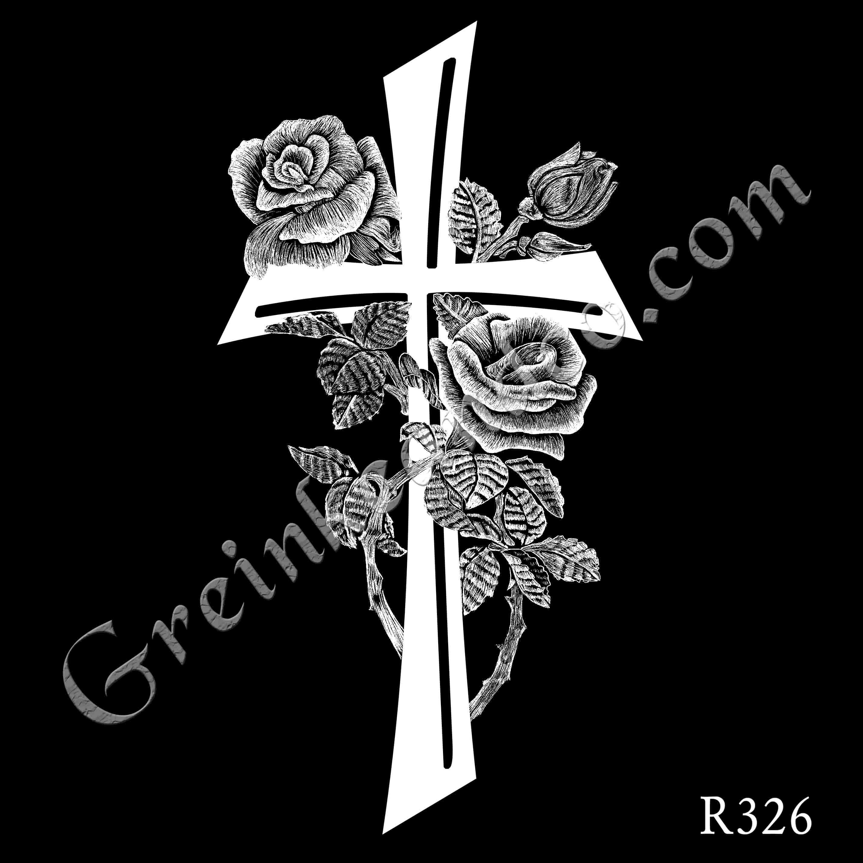 R326 - Rose Cross