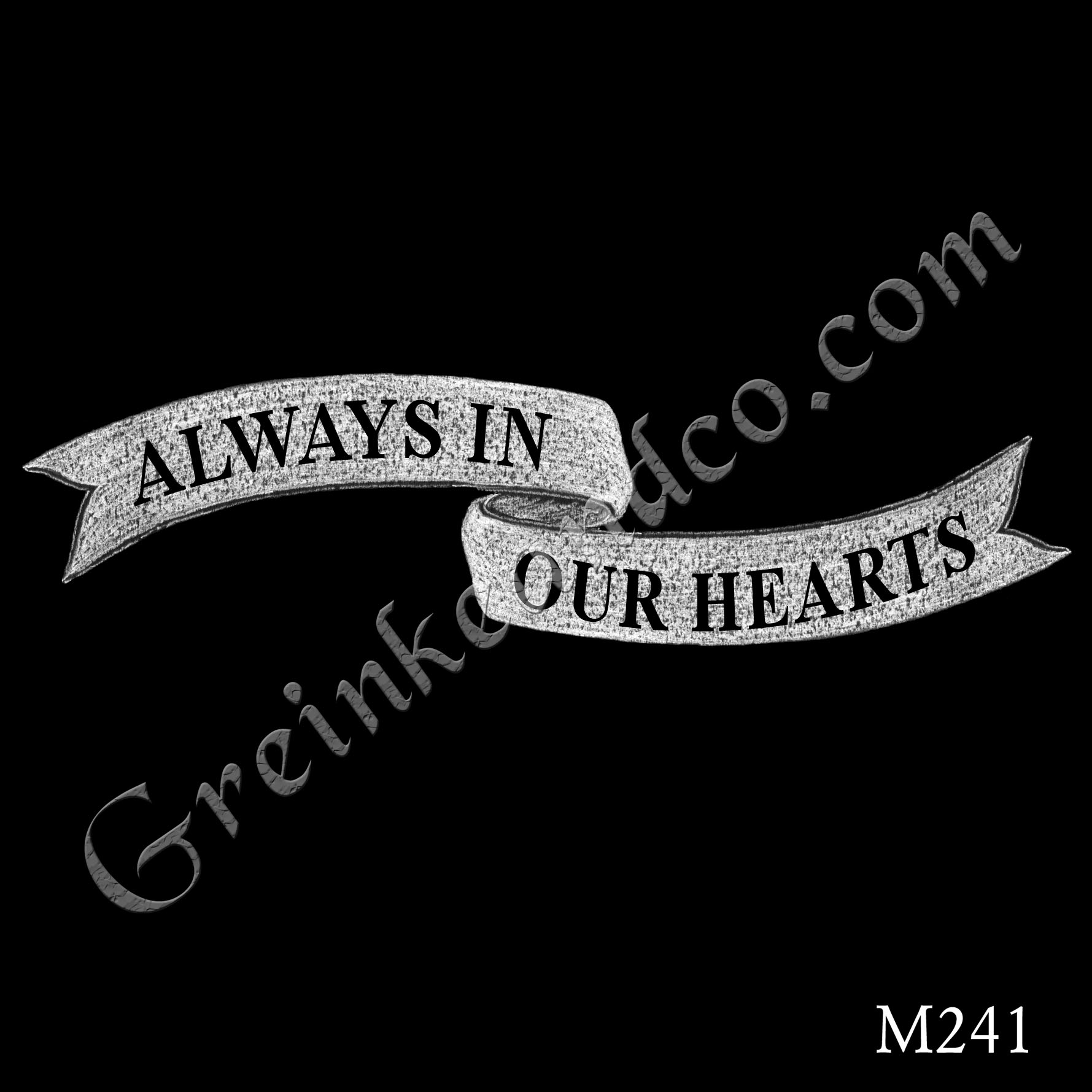 always in our hearts banner