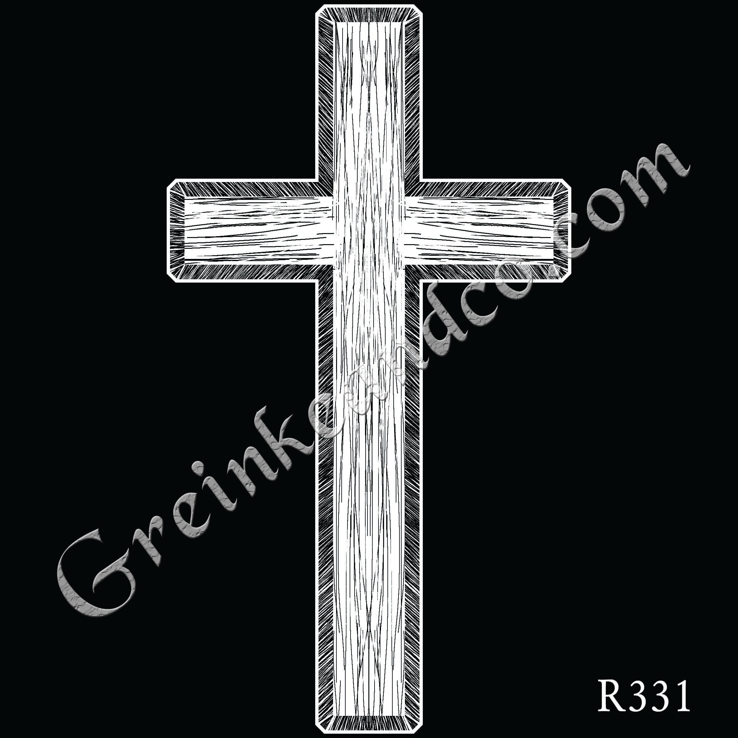 R331 - Plain Cross